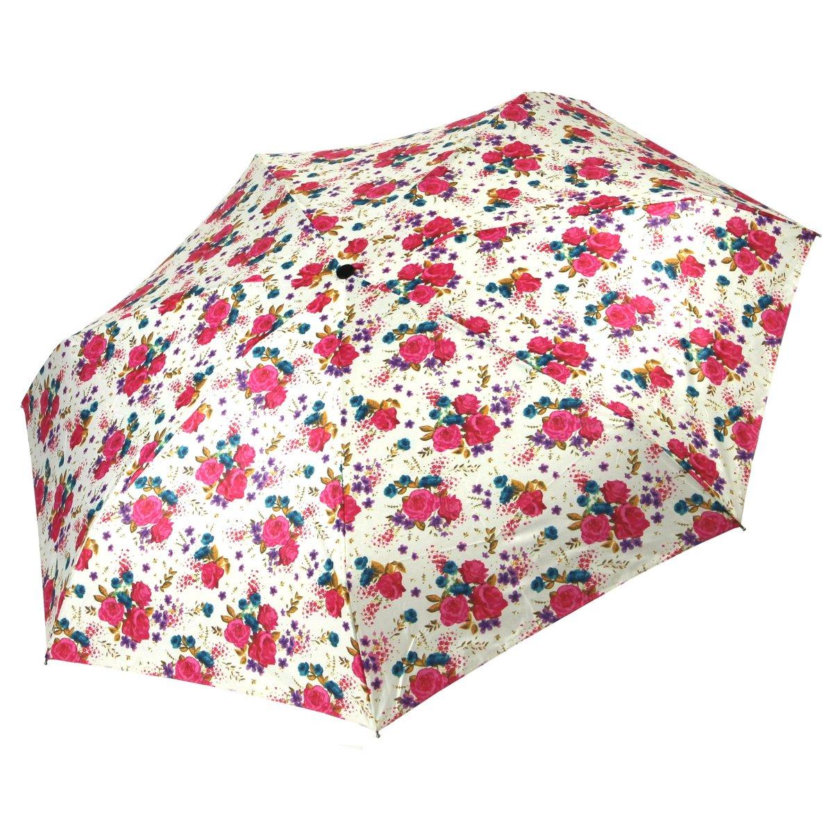 Cachemir Regenschirm Minischirm Damen pink