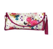 Minischirm Damenregenschirm Handöffnung Tasche pink