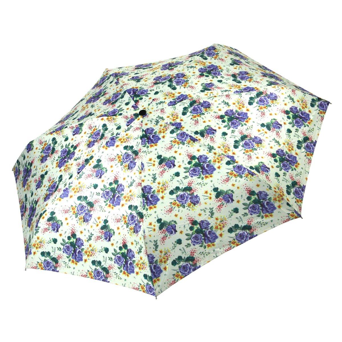 Cachemir Regenschirm Minischirm Damen grün