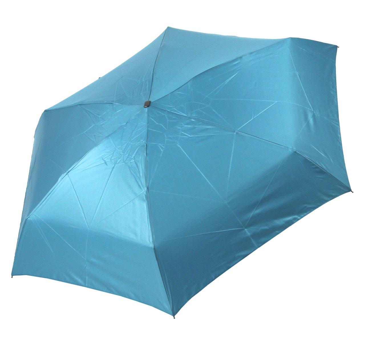 Cachemir Taschenschirm Mini Damen blau