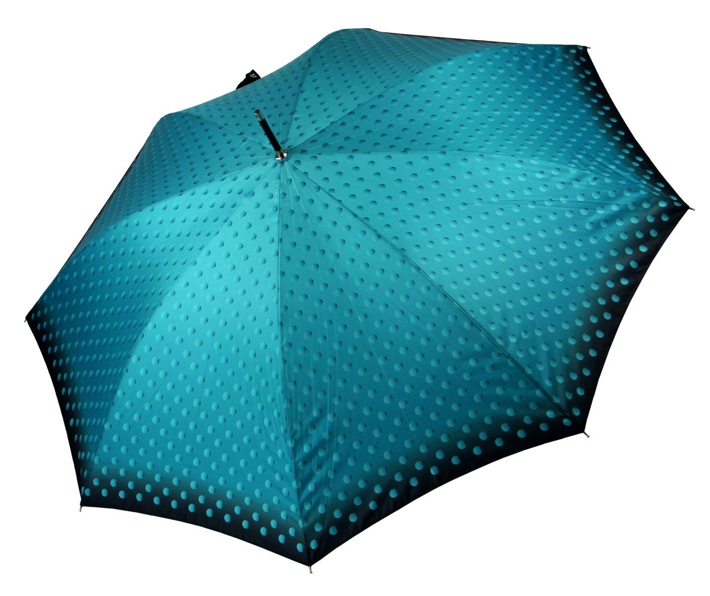 Regenschirm Damen Automatik türkis