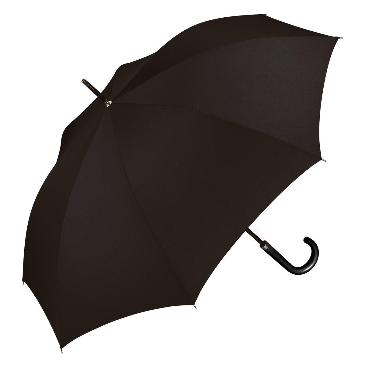 Regenschirm Herren Automatik Stockschirm schwarz