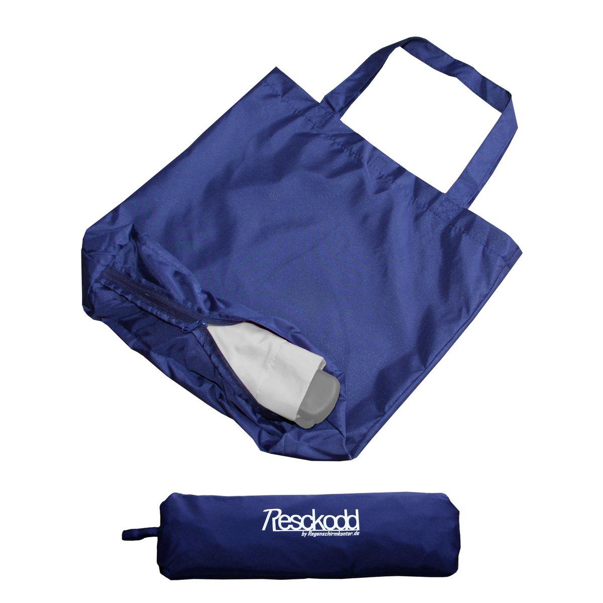 Shopper-Tasche mit Zusatzfunktion Schirmhülle