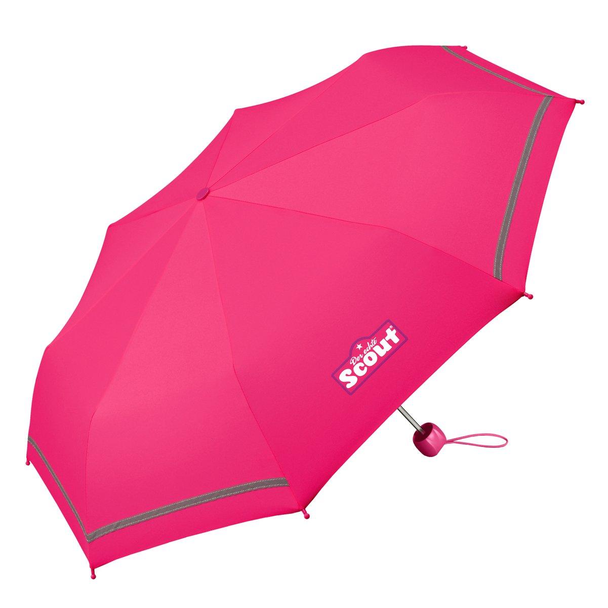 Scout Regenschirm Taschenschirm  Pink