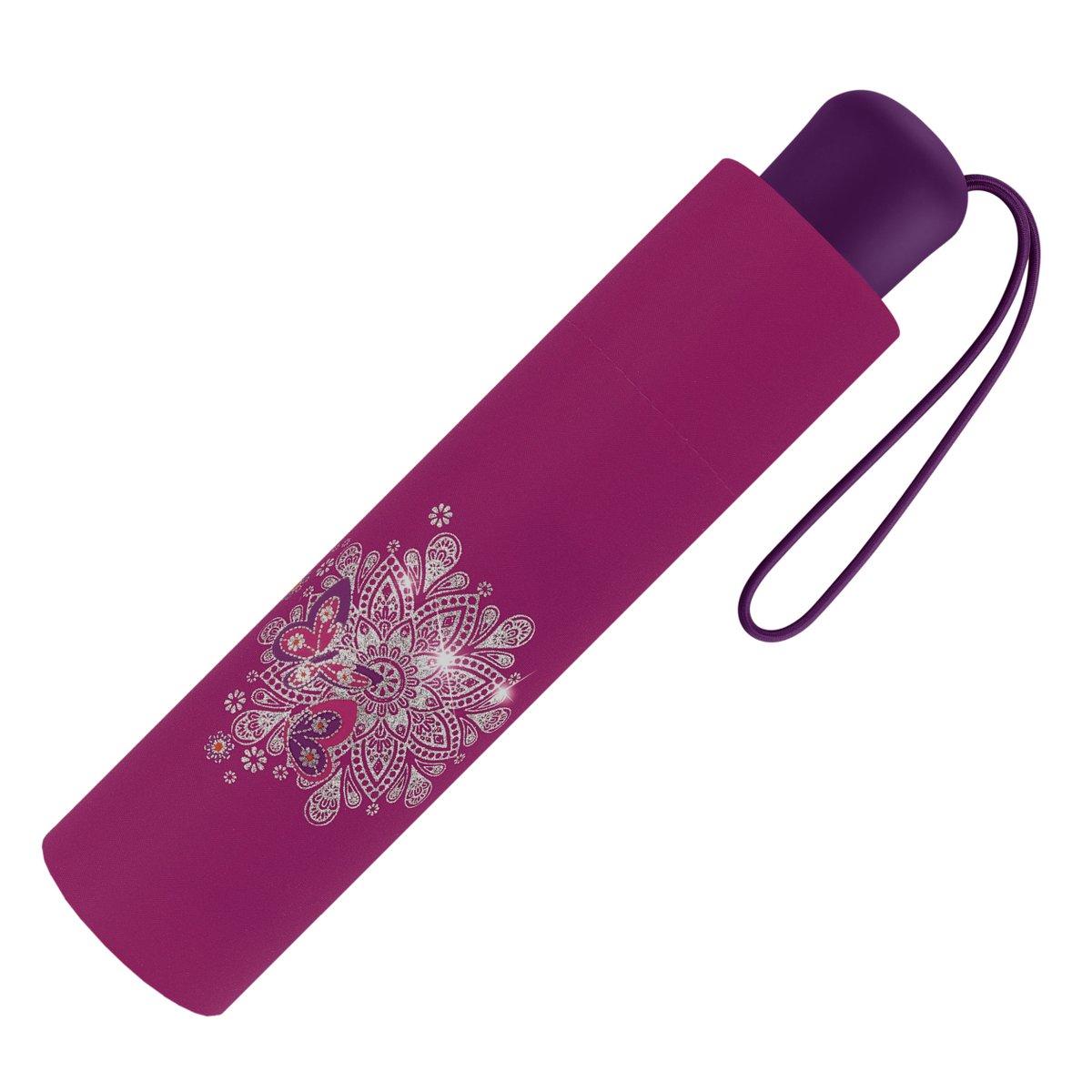 Scout Regenschirm Taschenschirm Schmetterling Pink
