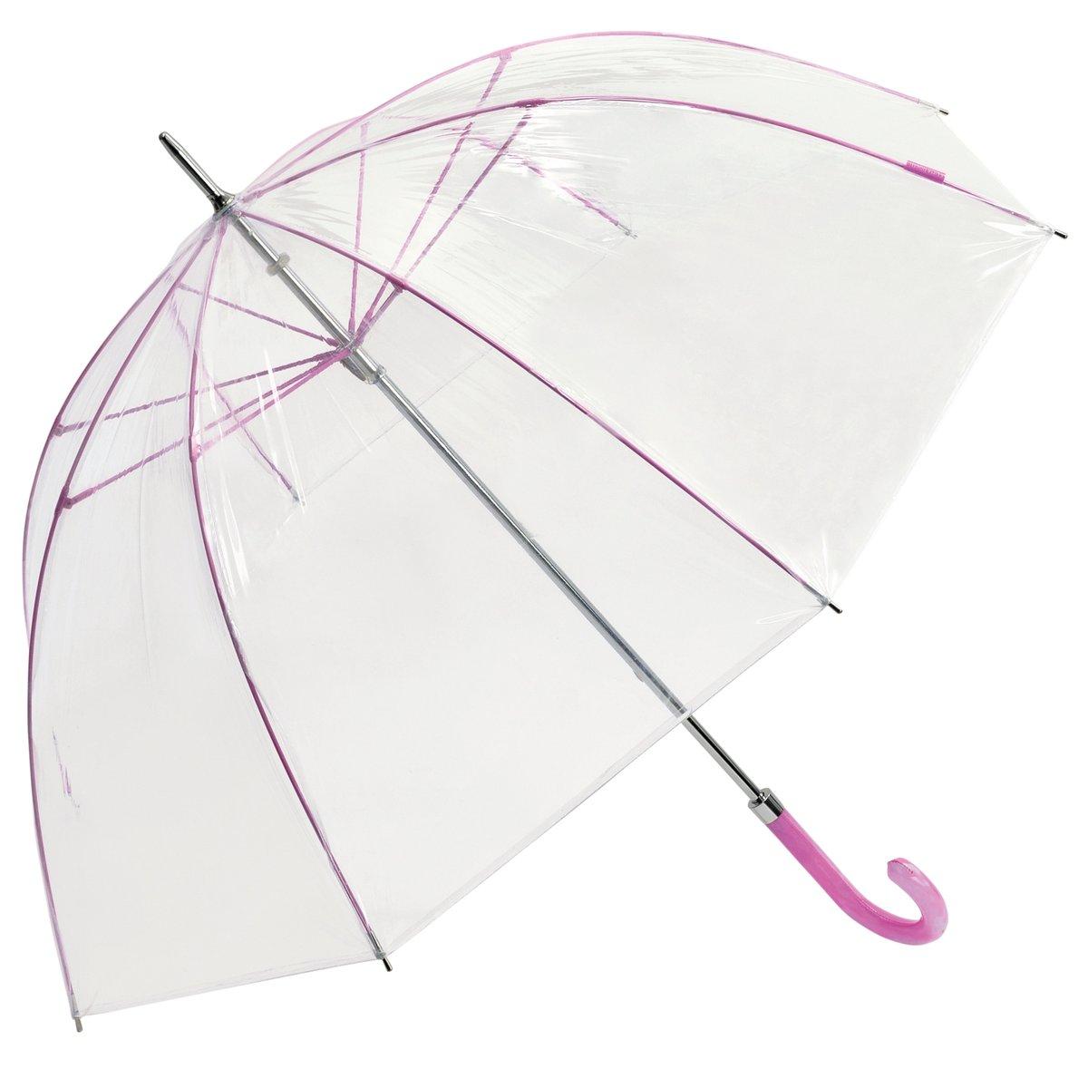 Bisetti Regenschirm Transparent Glockenschirm