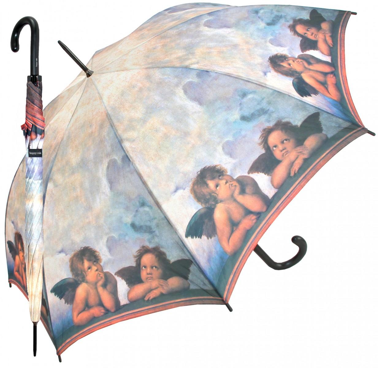 Regenschirm Stockschirm  Motiv Raffael Engel