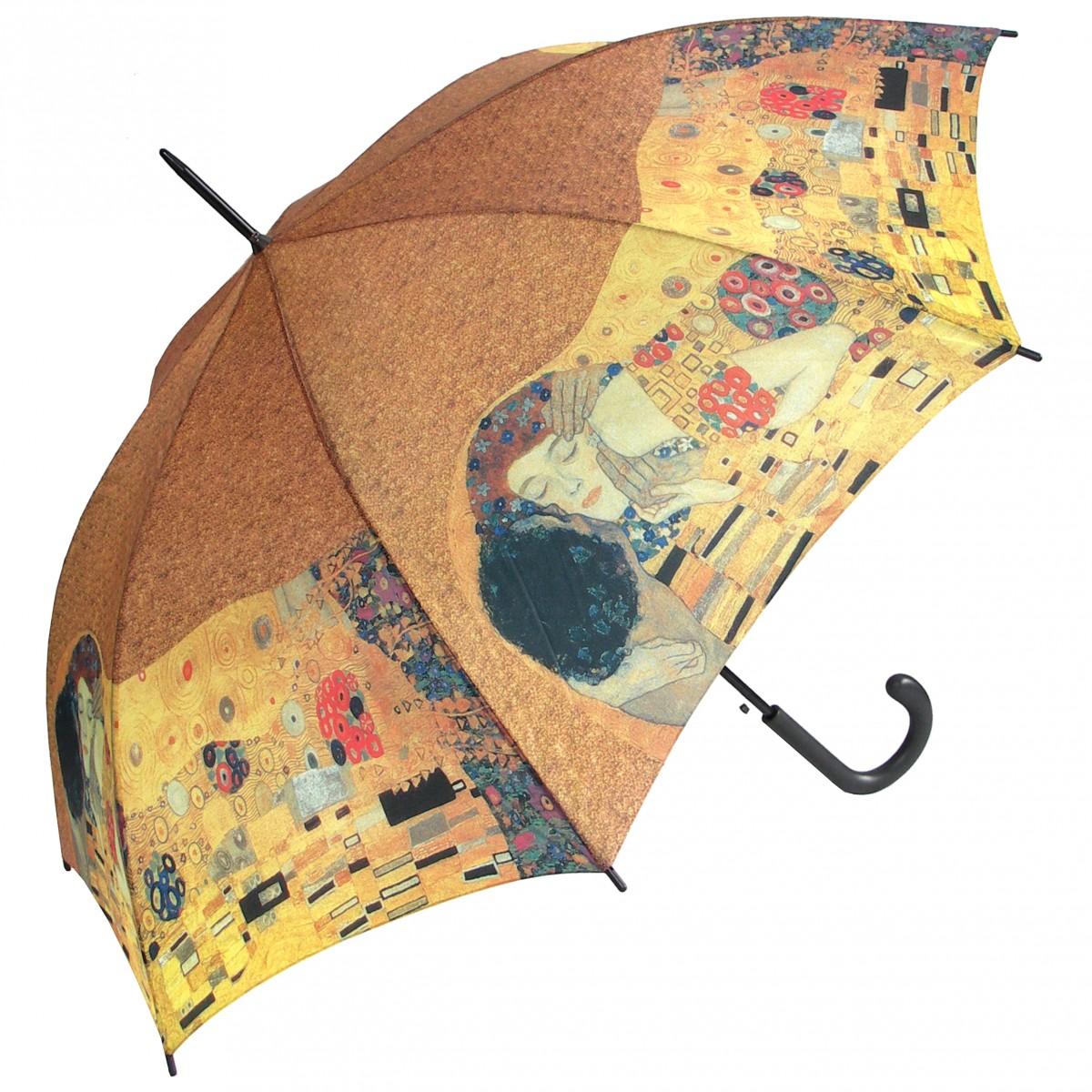 Regenschirm Stockschirm Motiv Der Kuss von Gustav Klimt