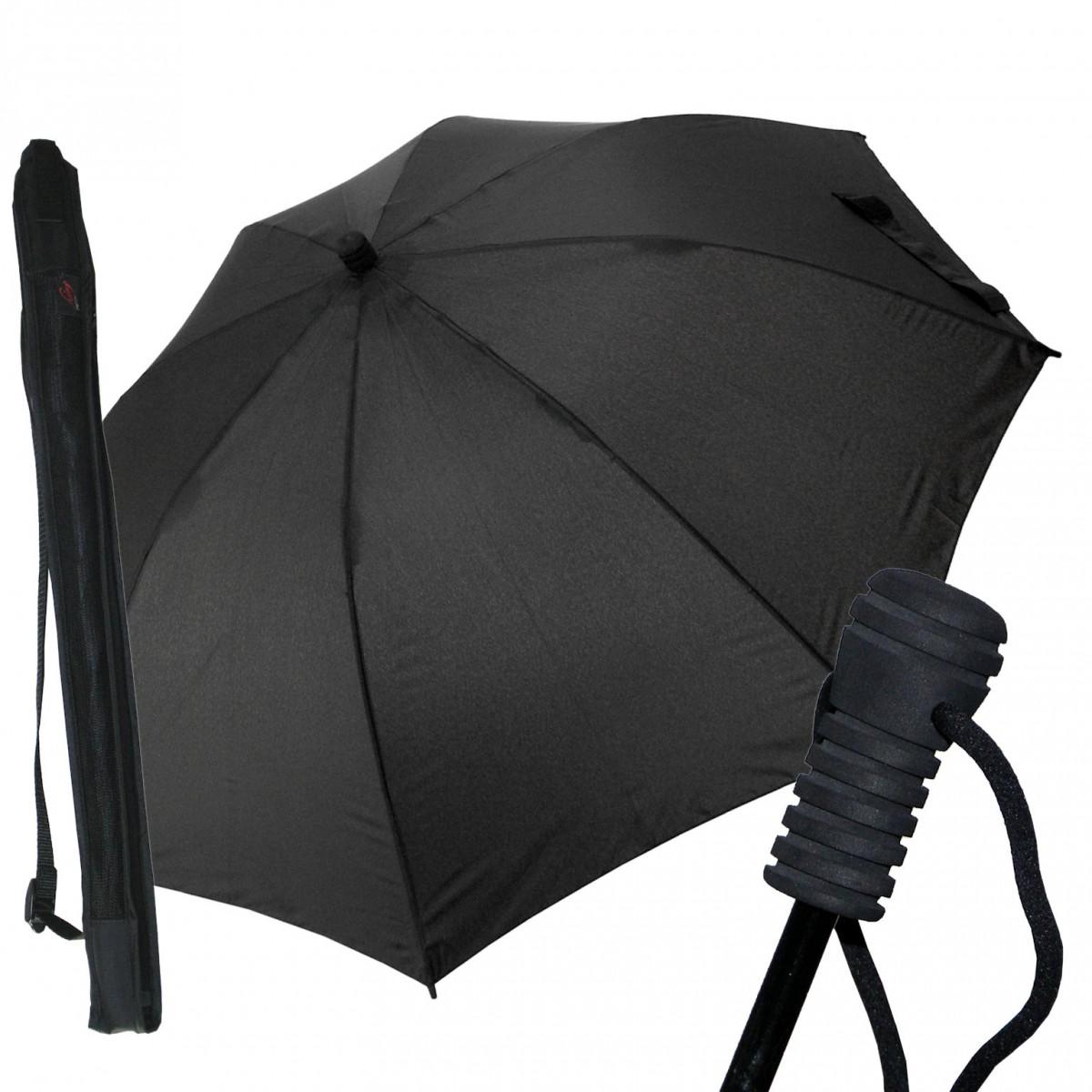Regenschirm Trekking Swing liteflex schwarz