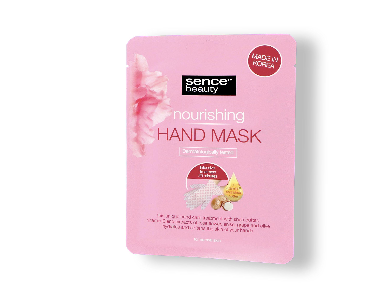 Handmaske für feuchtigkeitsspendende Pflege rauer und rissiger Hände