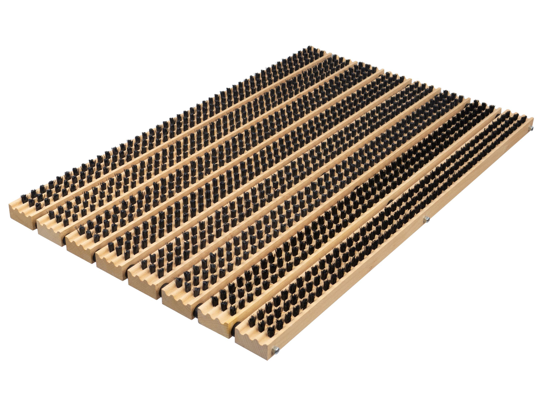 Bürstenmatte/Schuhabstreifer (59x38,5) PVC-Borste - das Original von BÜMAG