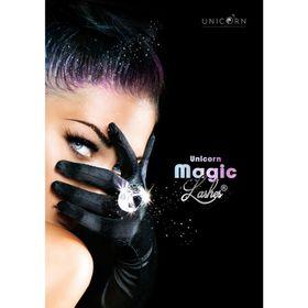 "Unicorn Poster A1 ""Magic Lashes Black"""
