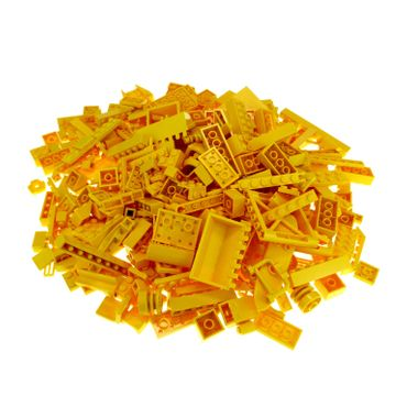 0,5 kg Lego brick Basic stones Special stones by color yellow shape of the stones randomly mixed