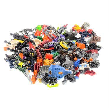 0,5 kg Lego Bionicle Hero Factory Slizer Knights Kingdom Technic Mischung Kiloware Form und Farbe der Steine zufällig gemischt 500 g Sortierung – Bild 2