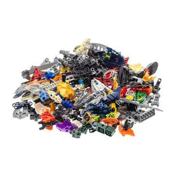 0,5 kg Lego Bionicle Hero Factory Slizer Knights Kingdom Technic Mischung Kiloware Form und Farbe der Steine zufällig gemischt 500 g Sortierung – Bild 3