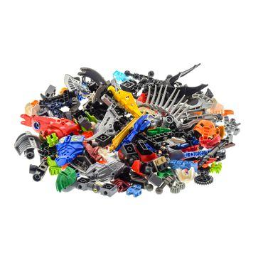 0,5 kg Lego Bionicle Hero Factory Slizer Knights Kingdom Technic Mischung Kiloware Form und Farbe der Steine zufällig gemischt 500 g Sortierung – Bild 4