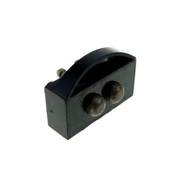 1 x Lego System Electric Zug Schleif Kontakt 12V B-Ware abgenutzt schwarz 2x4 Strom Pinn kurz Schleifer für Train Motor alt Type 1 für Set 725 bb53