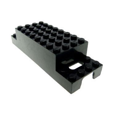 1 x Lego System  Electric Motor Gehäuse 4.5V Type III schwarz 12x4x3 1/3 Eisenbahn Zug Lok für offene Kontakte x469baopen