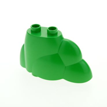 1 x Lego brick Bright Green Duplo Plant Bush / Tree Top / Rock Pile with 2 Studs 4537437 64132