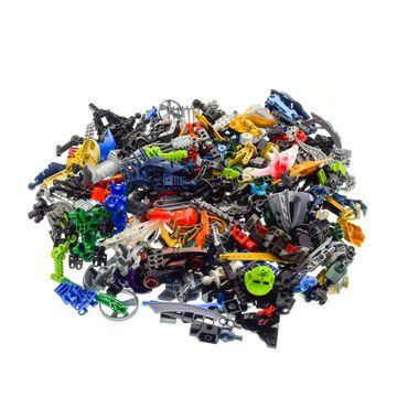 1 kg Lego Bionicle Hero Factory Slizer Knights Kingdom Technic Mischung Kiloware Form und Farbe der Steine zufällig gemischt 1000 g Sortierung – Bild 1