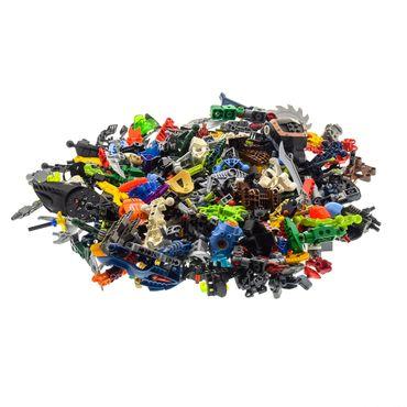1 kg Lego Bionicle Hero Factory Slizer Knights Kingdom Technic Mischung Kiloware Form und Farbe der Steine zufällig gemischt 1000 g Sortierung – Bild 3