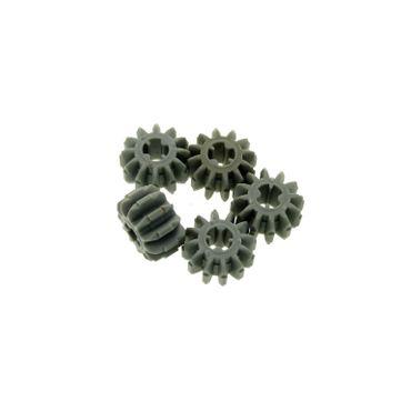 5 x Lego Technic Zahnrad alt-hell grau Z12 12 Zähne Rad Technik Gear 12 Tooth 4141454 32270