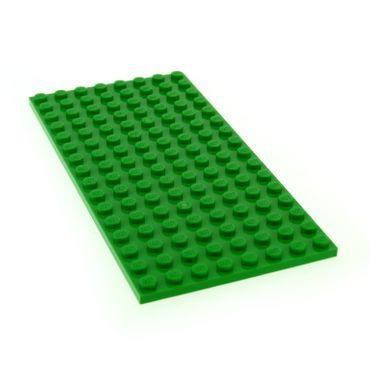 1 x Lego System Bau Platte 8x16 bright hell grün 8 x 16 Wiese Rasen Set 41122 10253 41095 10247 21115 4610353 92438
