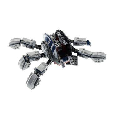 1 x Lego System Set Modell für Star Wars Clone Wars 75013 Umbaran MHC Kanone hell grau incomplete unvollständig