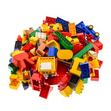2 Kg Lego brick  Duplo Stones Basic Special Stones Kiloware approx 150 parts (window animals Car figures can also be included ) mixed randomly – Bild 4