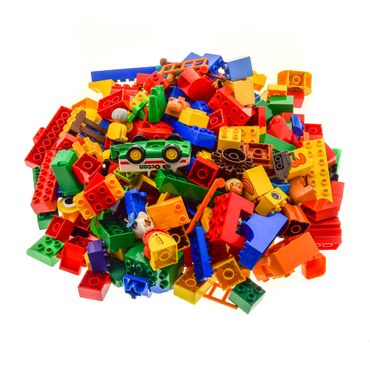3 Kg Lego brick  Duplo Stones Basic Special Stones Kiloware approx 230 parts (flowers animals Car figures can also be included ) mixed randomly – Bild 2