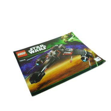 1 x Lego System Bauanleitung A4 Nr 1 für Set Star Wars Yoda Chronicles Jek-14's Stealth Starfighter 75018