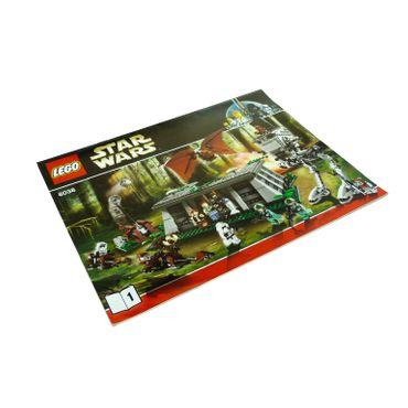1 x Lego System Bauanleitung A4 Nr 1 für Set Star Wars Episode 4/5/6 The Battle of Endor 8038