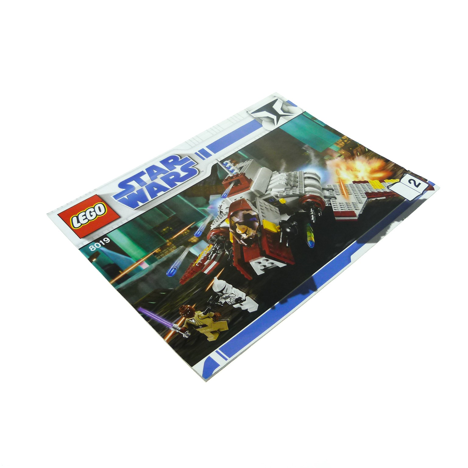 1 X Lego Brick Instructions For Set Star Wars Clone Wars Republic