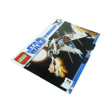 1 x Lego System Bauanleitung A4 Nr 2 für Set Star Wars Clone Wars Star Wars V-19 Torrent 7674