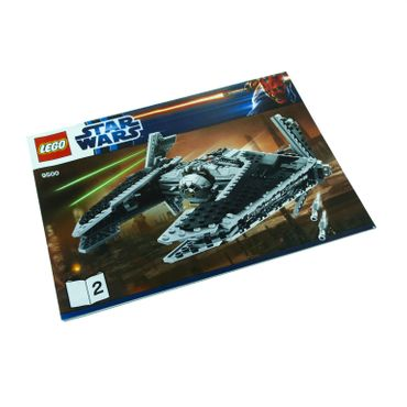1 x Lego System Bauanleitung A4 Nr 2 für Set  Star Wars Old Republic Sith Fury-class Interceptor 9500