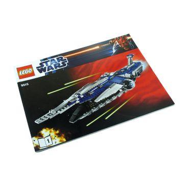 1 x Lego System Bauanleitung A4 Nr 1 für Set Star Wars Clone Wars The Malevolence 9515