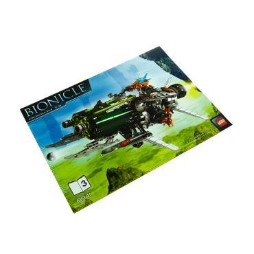 1 x Lego Bionicle Bauanleitung Heft 3 A4 für Set Battle Vehicles Rockoh T3 8941