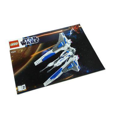 1 x Lego System Bauanleitung A4 Nr 2 für Set Star Wars Clone Wars Pre Vizsla's Mandalorian Fighter 9525