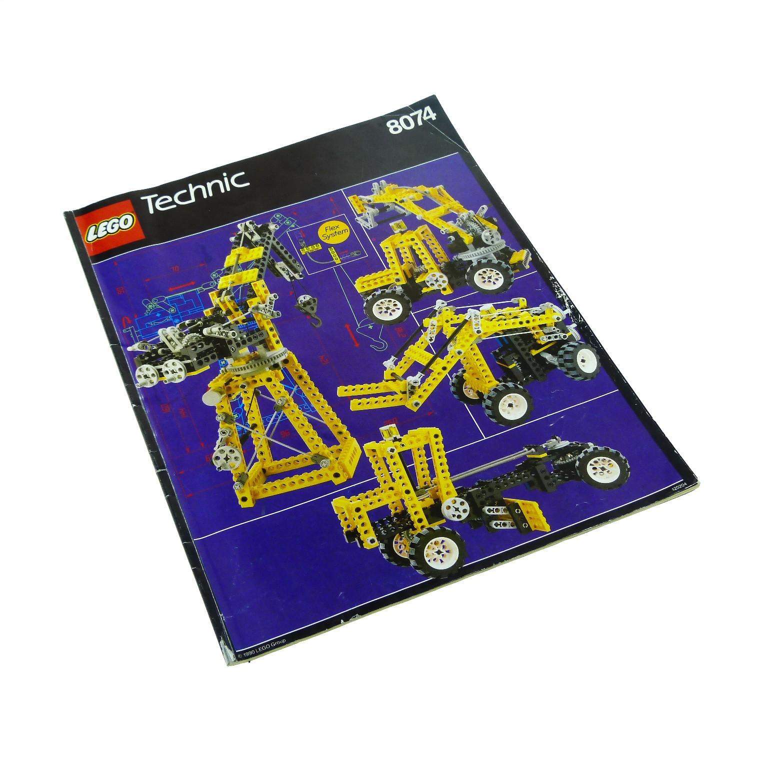 1 X Lego Brick Instructions For Set Technic Building Universal Set