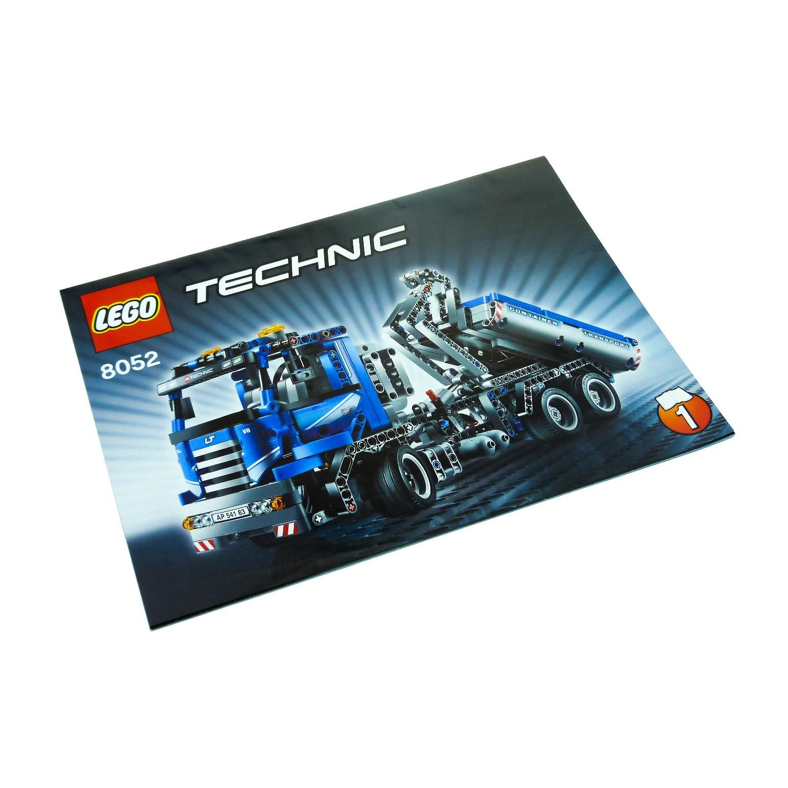 1 X Lego Brick Instructions For Set Technic Model Construction
