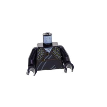 LEGO-MINIFIGURES X 1 TORSO NINJAGO WRAP WITH SHOULDER ARMOR AND BELT GOLD LION