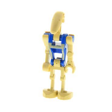 1 x Lego System Figur Droide beige blau Star Wars Episode 1/3 Battle Droid Pilot 1 gerader Arm 59230 30377 30376 30378 30375ps2 sw360