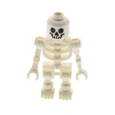1 x Lego System Figur Skelett weiss Standard Kopf Augen rund Skeleton Fantasy Era Torso 60115 3626bpb0001 6266 59230 gen019