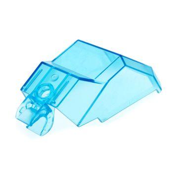 1 x Lego Duplo Toolo Fenster transparent hell blau Kabine Cockpit Windschutzscheibe Set 9121 9122 9106 6672