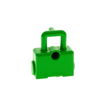 1 x Lego brick bright green Duplo Utensil Bag with Wheels Intelli for Set 3771 42398