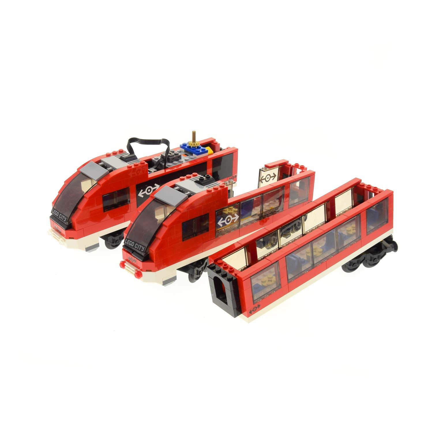 1 X Lego Brick For Set 7938 Passenger Train Model Incomplete