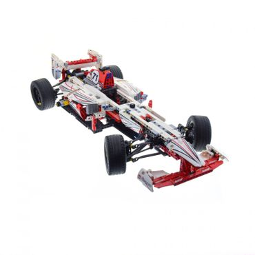 1 x Lego brick Car for Set Technic Model Race 42000 Grand Prix Racer ( model incomplete )