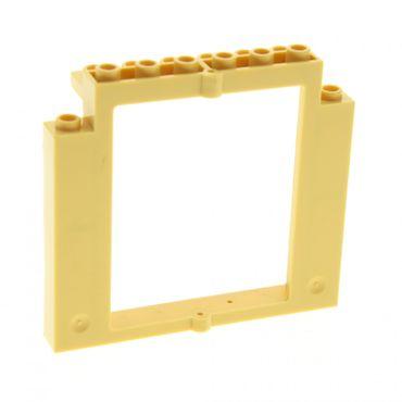 1 x lego system t r rahmen beige tan 2x8x6 castle dreht r burg fenster rahmen ohne boden. Black Bedroom Furniture Sets. Home Design Ideas