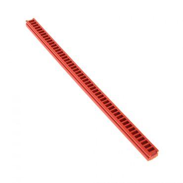 1 x Lego Technic Zahnstange rot 1x20 für Technik Winde Zahnrad Rack für Set M - Tron 6989 6394 2428
