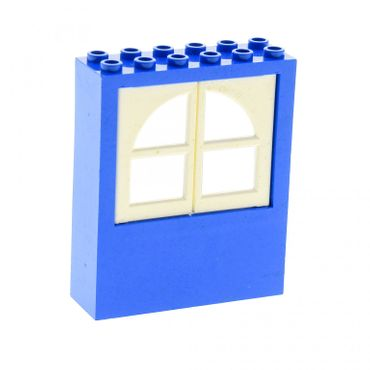 1 x Lego brick blue Window 2 x 6 x 6 Freestyle with white Window 1 x 3 x 4 Panes 6236c01